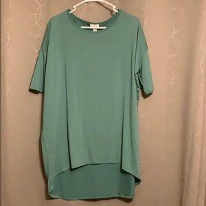 New! LulaRoe Green Irma Size M. Super soft!